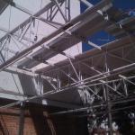Cobertura em estrutura metálica