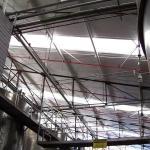 Cobertura para galpão industrial