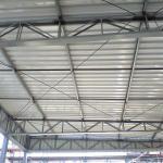 Cobertura telhado estrutura metálica