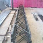 Estrutura metálica para galpão industrial