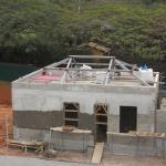 Estrutura metálica residencial