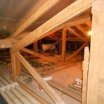 Estrutura de madeira para telha galvanizada